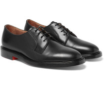 Boyd Polished-leather Derby Shoes