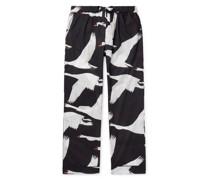 Leda Printed Cotton Pyjama Trousers