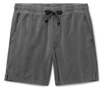 Easy Cotton-Corduroy Drawstring Shorts