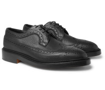Richard Pebble-grain Leather Brogues