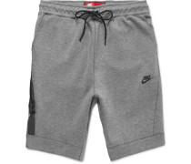 Cotton-blend Tech-fleece Shorts