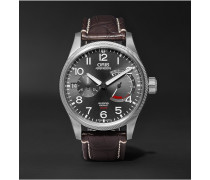 Pro Pilot Calibre 111 Stainless Steel And Alligator Watch