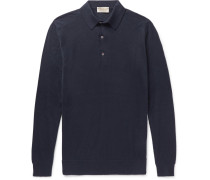Lanlay Cotton And Cashmere-blend Polo Shirt