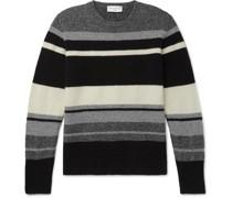 Marco Striped Alpaca-Blend Sweater