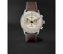 Meister Driver Automatic Chronoscope 40mm Stainless Steel and Leather Watch, Ref. No. 027/3684.00