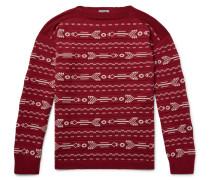 Wool-jacquard Sweater