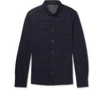 Double-faced Jersey Overshirt