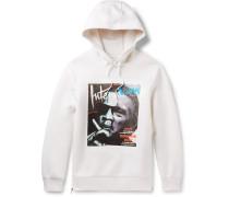 Jay De Niro Printed Scuba-jersey Hoodie