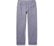 Marcel Gingham Cotton Pyjama Trousers
