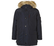 Nordic Faux Fur-trimmed Shell Down Parka