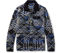 Cotton-blend Jacquard Overshirt