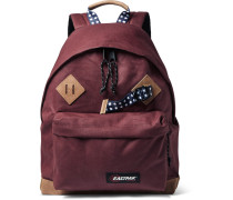 Padded Pak'r® Leather-trimmed Canvas Backpack