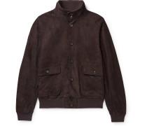 Milano Slim-Fit Suede Jacket