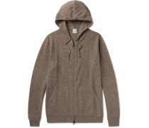 Wool, Yak And Cashmere-blend Zip-up Hoodie
