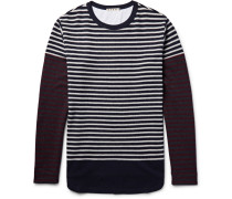 Striped Knitted Wool T-shirt