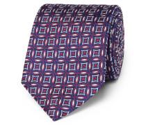8cm Silk-jacquard Tie