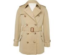 Slim-fit Cotton-gabardine Trench Coat