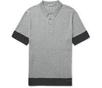 Brit Slim-fit Knitted Cotton Polo Shirt