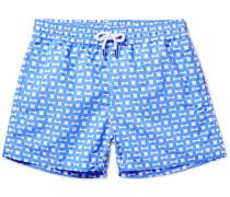 Urca Mid-length Printed Swim Shorts