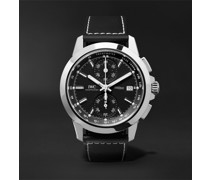 Ingenieur Automatic Chronograph Sport 44mm Titanium and Leather Watch, Ref. No. IW380901