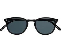 Kinney 47 Round-Frame Acetate Sunglasses