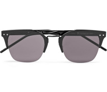 D-frame Coated-aluminium Sunglasses