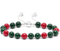 San Valentino Sterling Silver Bead Bracelet