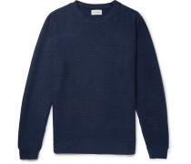 Robin Striped Cotton-jersey Sweatshirt