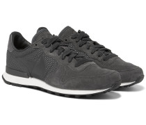 Internationalist Lx Suede And Nubuck Sneakers