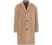 Cotton, Alpaca and Mohair-Blend Overcoat