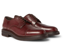 Cordovan Leather Derby Shoes