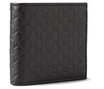 Embossed Leather Billfold Wallet