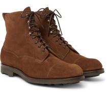 Galway Cap-toe Suede Boots