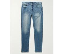 Super Slim-Fit Stretch-Denim Jeans