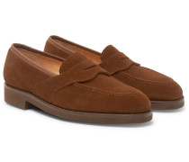 Bradley Suede Penny Loafers