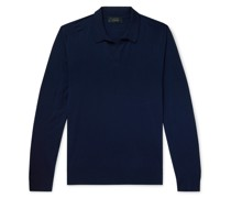 Lasca Slim-Fit Merino Wool Polo Shirt