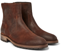 Attwell Burnished-suede Boots