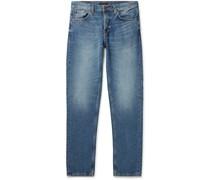 Steady Eddie II Slim-Fit Washed Organic Denim Jeans