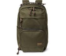 Dryden Leather-Trimmed CORDURA Backpack