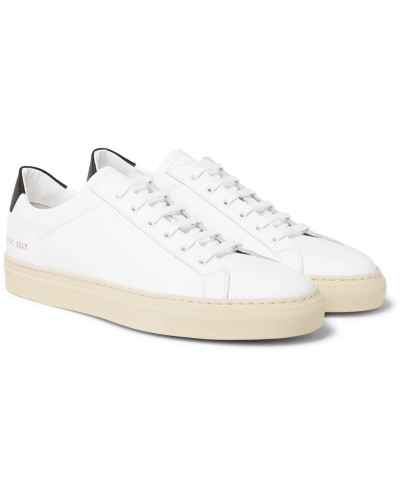 Common Projects Herren Achilles Retro Leather Sneakers