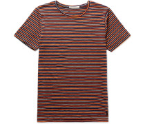 Ove Striped Organic Cotton-jersey T-shirt
