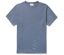 Danbury Striped Organic Cotton-Jersey T-Shirt