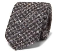 6cm Slub Silk-blend Tie