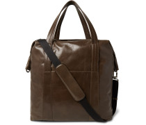 Grained-leather Holdall