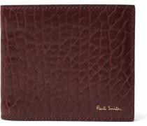 Grained-leather Billfold Wallet