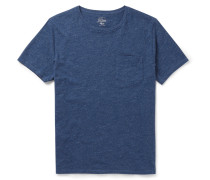Flagstone Garment-dyed Mélange Cotton-jersey T-shirt