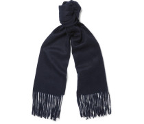 Brushed-cashmere Scarf