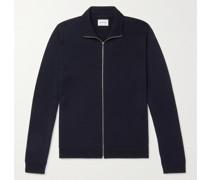 Fjord Merino Wool Zip-Up Cardigan