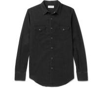 Slim-fit Washed-denim Shirt