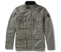 Trialmaster Slim-fit Waxed-cotton Jacket
